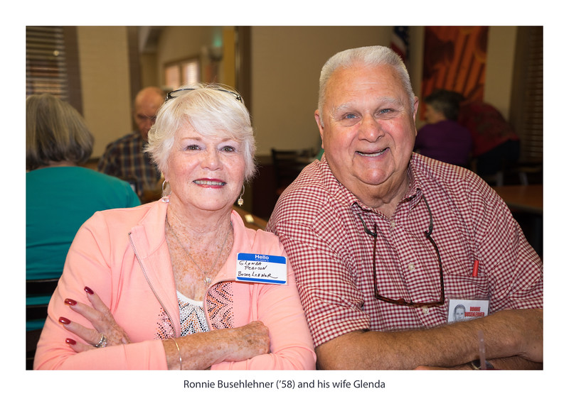 Ronnie Busenlehner ('58) and his wife Glenda.jpg