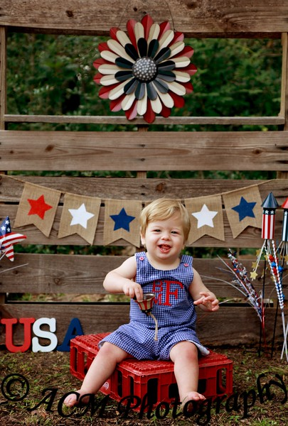 Bradley - Red, White, and Blue