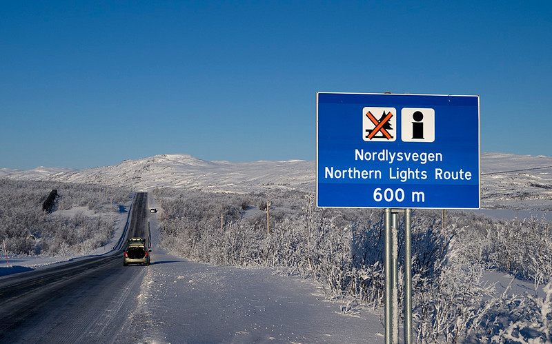 Its offiicial there is a designated route. This one in Finland.