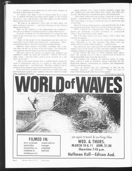 SoCal, Vol. 62, No. 83, March 08, 1971
