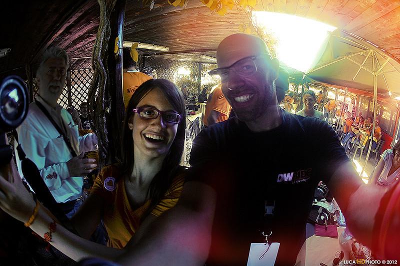 Chiara and Me. Ostia 07/2012