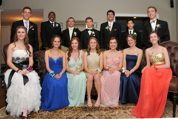 2013-05 Canton Junior Prom Group Shots