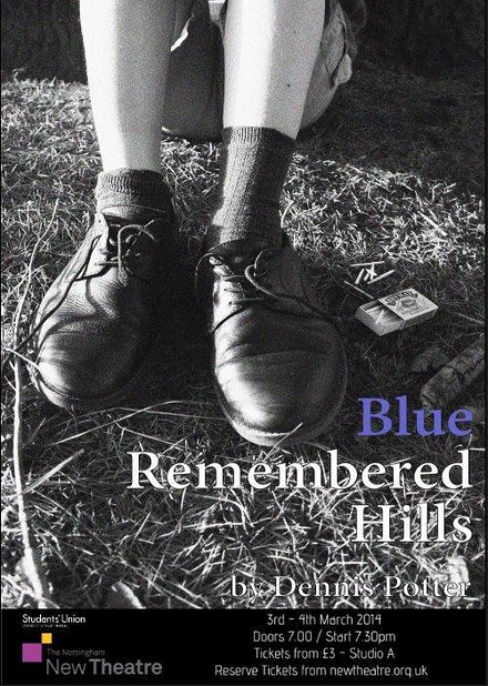 Blue Remembered Hills poster