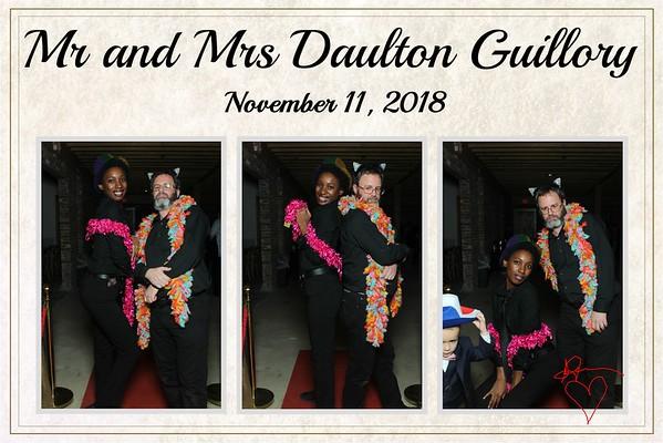 Mr & Mrs Daulton Guillory