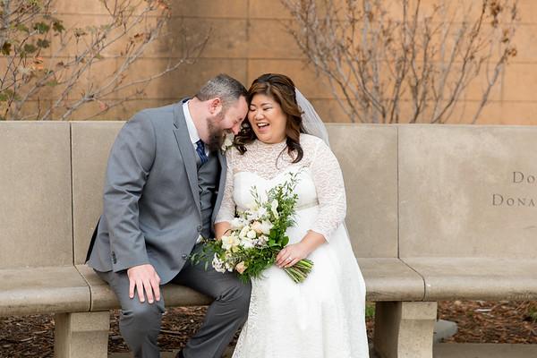 Stacy & Scott City Hall Wedding