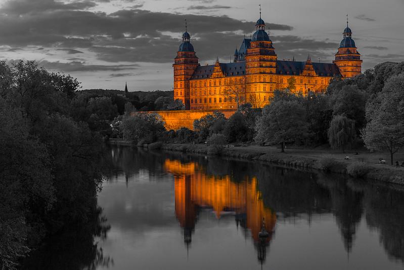 Schloss Johannisburg - Aschaffenburg, Germany - My hometown:)!