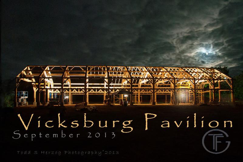 Vicksburg Pavilion post card