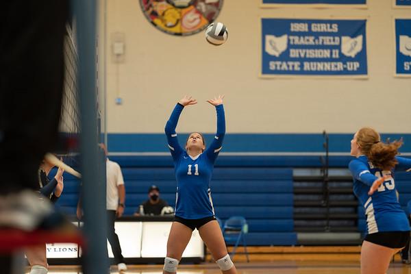 Varsity Volleyball vs Teays Valley