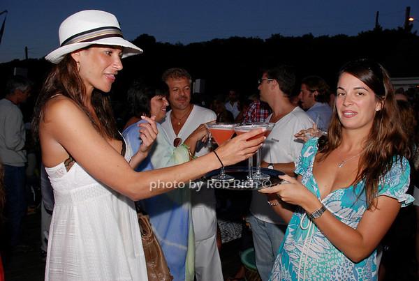 Jessica Bamberger drinking Inocente