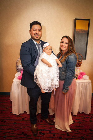 Leah's Baptism and Reception