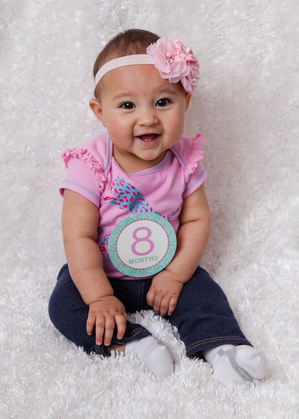 Hazlie 8 months