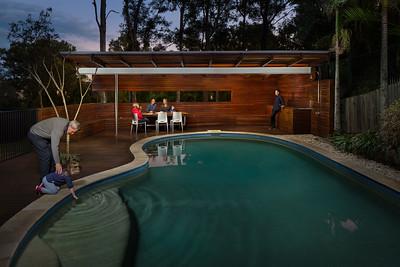 Yeerongpilly Pool House