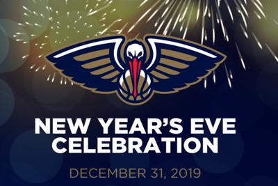 Pelicans NYE Celebration 12/31/19