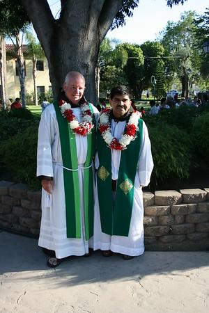 07-17-10 Welcome Fr. Luis & Fr.David