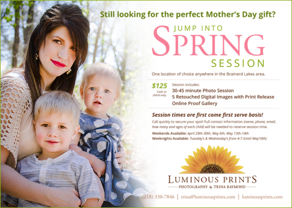 Jump Into Spring Session