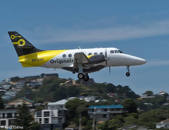 Originair BAe Jetstream 31 at Wellington 2020