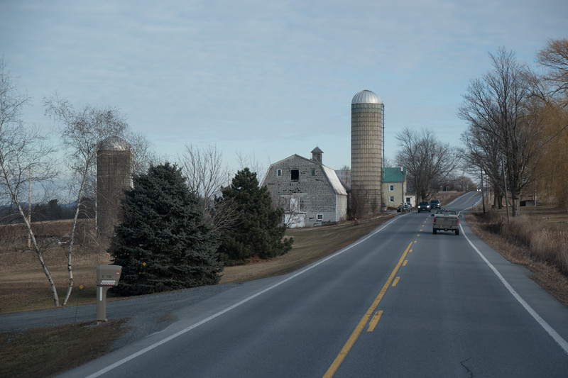 Vermont Barn And Silo