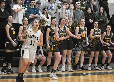 King Philip - Bishop Feehan Girls Basketball 2-26-20