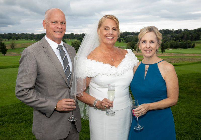 Bride with Guests Outside.jpg