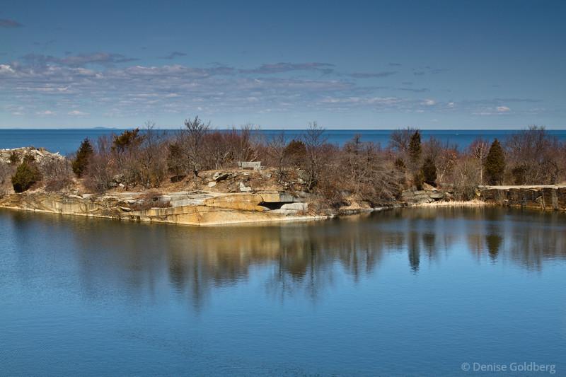 quarry reflection, Halibut Point State Park