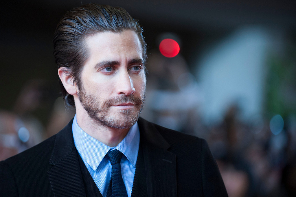 """. Actor Jake Gyllenhaal arrives at the premiere of \""""Enemy\"""" on day 4 of the 2013 Toronto International Film Festival at the Ryerson Theatre on Sunday, Sept. 8, 2013 in Toronto. (Photo by Arthur Mola/Invision/AP)"""