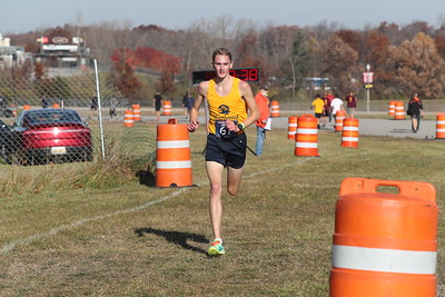 D1 Boys' at 2 Miles Section 2 - 2020 MHSAA LP XC