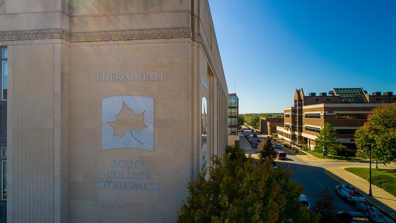 Aerial Federal Hall