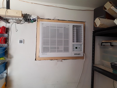 Shed air con 2020
