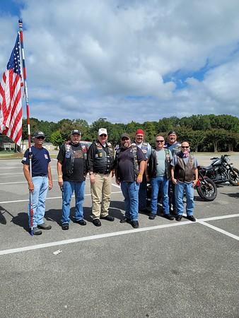 U.S Military Veterans MC Charity Ride  9/12/2020