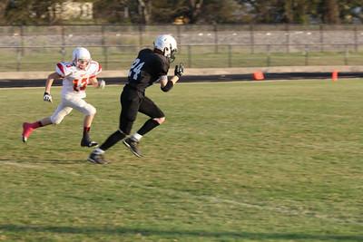 8th grade vs. S&S, 10/23/2014