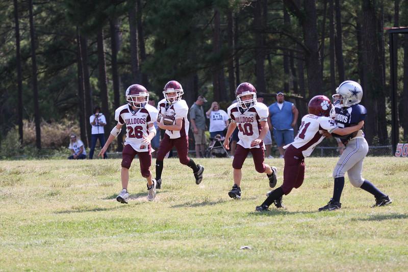Bulldogs Vs Cowboys (Juniors) - (MYFA) Magnolia Youth Football Association
