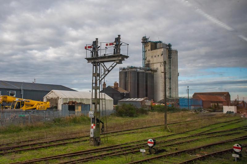 Lowestoft yard signals