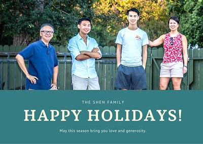 20201220 Family Holiday Photo