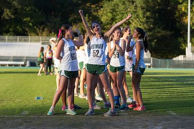 Cross Country Girls Seniors October 15, 2015