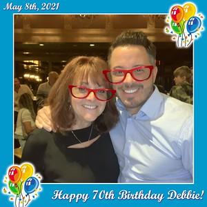 Debbie's 70th Birthday - May 8, 2021