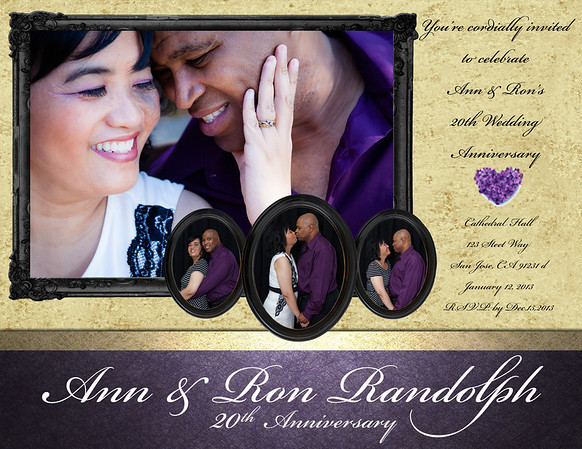 Ann & Ron's 20th Anniversary 2013