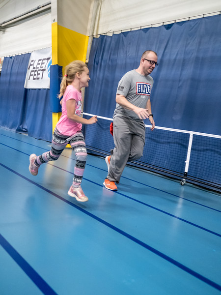 Mother/Son and Father/Daughter day at the Bettendorf Life Fitness Center