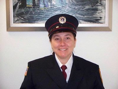 Delaware City, DE Firefighter Michelle Smith