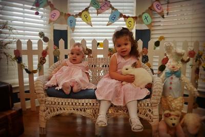 Myla & Alana Easter 2015