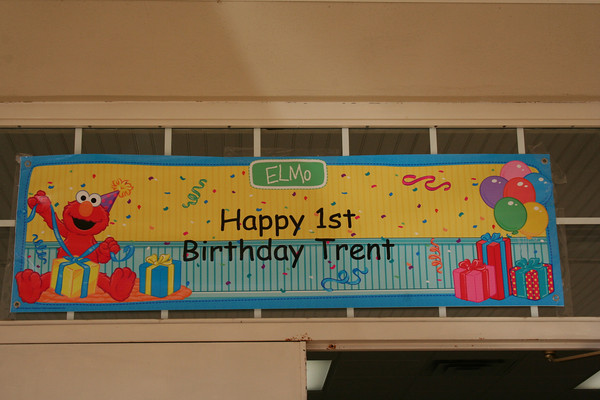 Trent's First Birthday