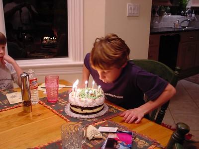 Harrison's 13th birthday