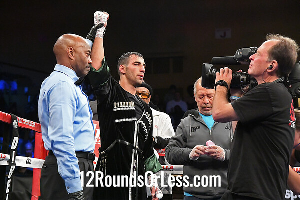 Bout #8:  Radzhab Butaev, Los Angeles, CA  vs  Janer Gonzales, Cartagena, Columbia  WELTERWEIGHTS