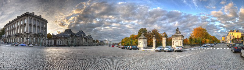 Place des Palais - Bruxelles, Belgium - October 31, 2010