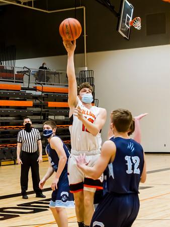 2/18/21 Boys Var Basketball vs Jerseyville