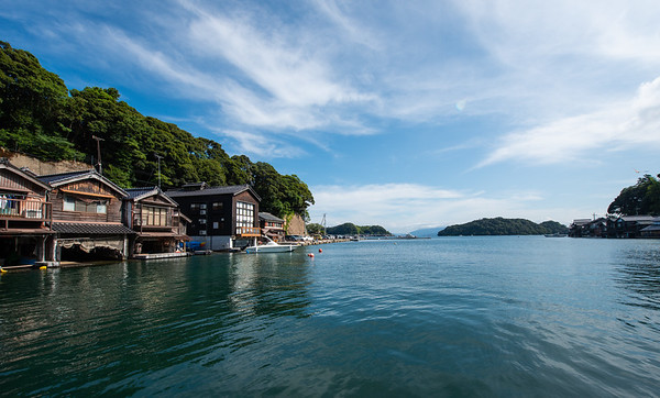 Kansai off the beaten path - Ine fishing village, Kyoto 伊根の舟屋
