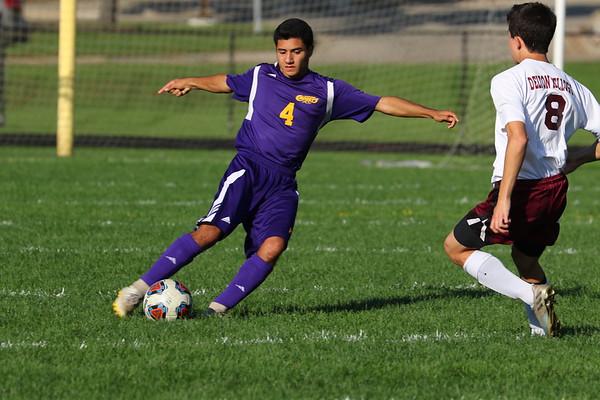 Soccer Boys vs Delton - KCHS - 10/3/18