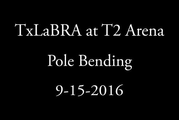 9-15-2016  Pole Bending