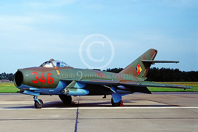 East German Air Force MiG-17 Fresco Pictures