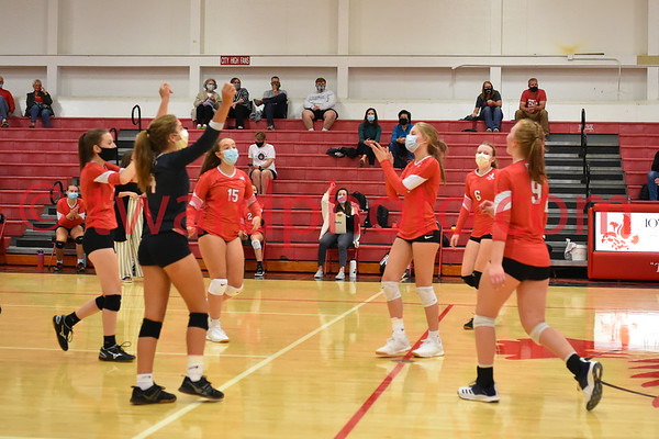 2020 CHS Sophomore Volleyball - Cedar Falls