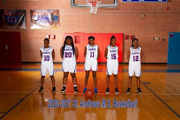 2020-2021 Girls Basketball